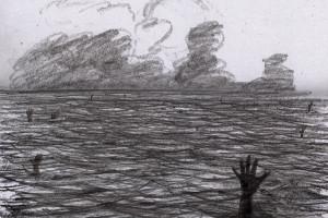 """""""Alltag im Mittelmeer"""" von Pirapakar Kathirgamalingam."""
