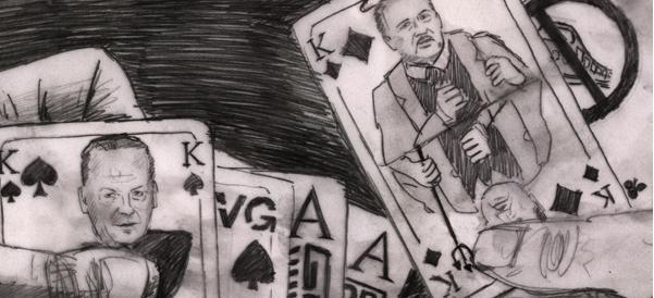 """""""Machtspiel"""" von Pirapakar Kathirgamalingam."""